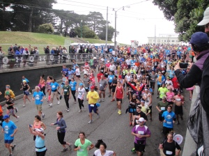Bay to Breakers - Hayes Street Hill