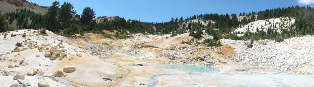 Bumpass Hell (panorama)