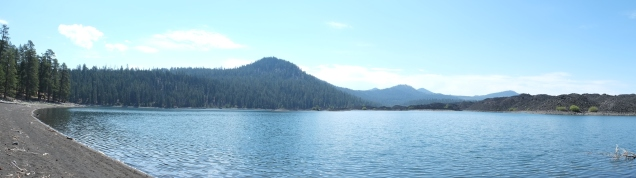 Manzanita Lake (panorama)